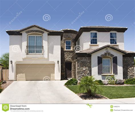 maison du sud ouest image libre de droits image 5460216