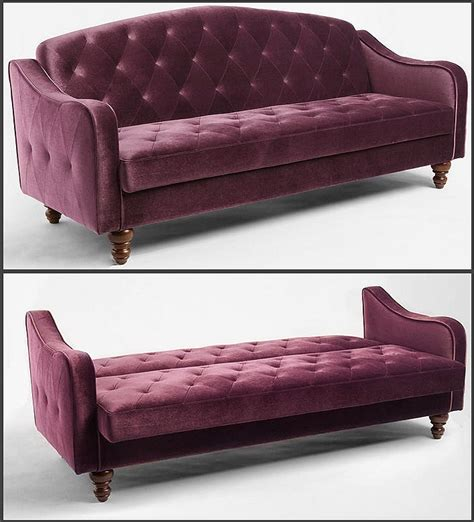 velvet tufted sleeper sofa outfitters what is this and in canada