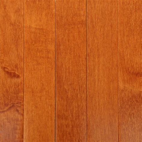 Maple Hardwood Flooring Colors by Bruce Cinnamon Maple 3 4 In Thick X 2 1 4 In Wide X
