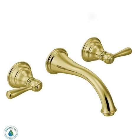 faucet t6107p in polished brass by moen