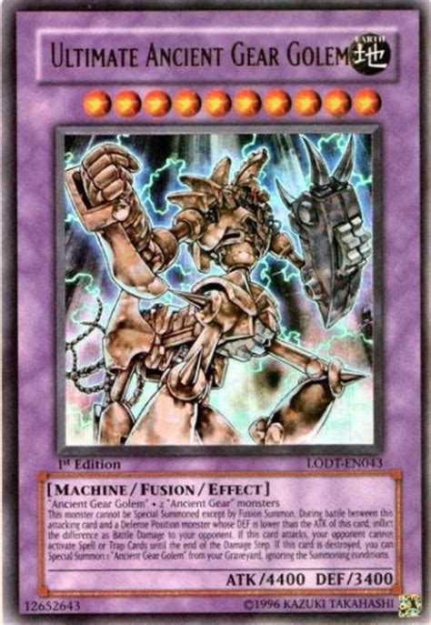 yu gi oh light of single ultimate ancient gear
