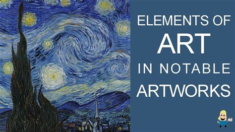 Elements Of Art In Famous Artworks Youtube