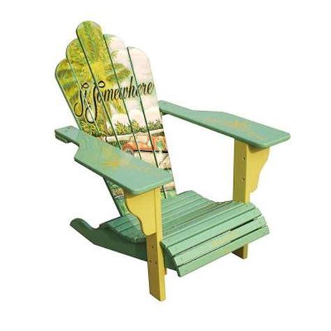 margaritaville seaplane deluxe adirondack patio chair