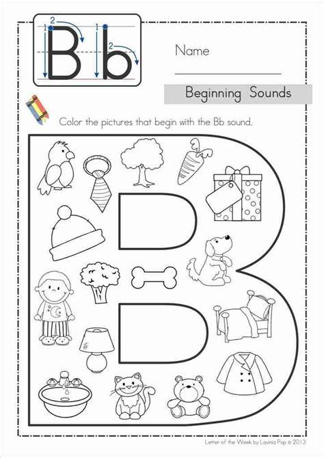Free Printable Letter B Worksheets For Kindergarten  Printable 360 Degree
