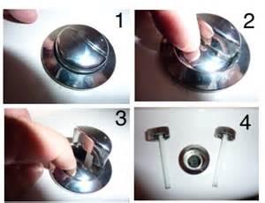 comment reparer le bouton poussoir d une chasse d eau