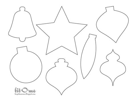 Best Christmas Felt Templates Images On Pinterest