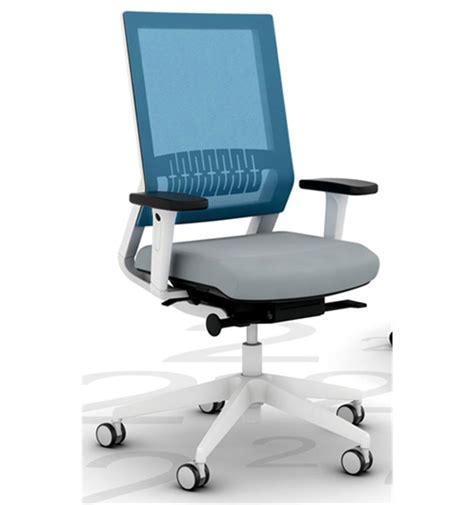 viasit impulse telegrey mesh back chair office chairs uk