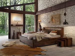 Bett Holz Dunkel : ehebett 180x200 massiv holz palisander braun doppelbett holzbett neu monrovia ebay ~ Markanthonyermac.com Haus und Dekorationen