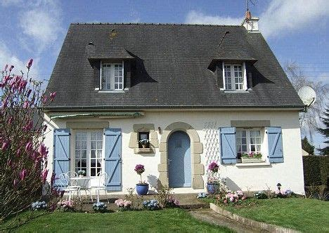 Small French Cottages  Google Search  Cottage Exterior