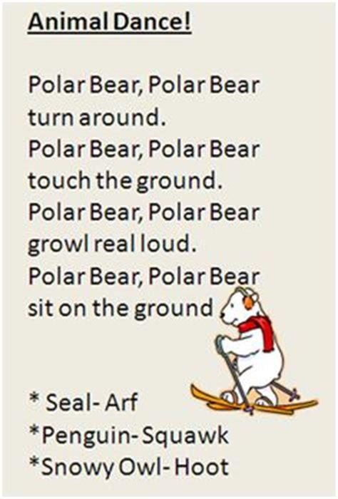 Row Row Row Your Boat Lyrics Polar Bear by Winter Animal Songs For Kids On Pinterest Polar Bears