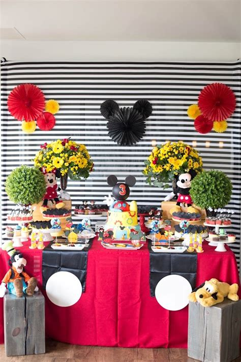 Kara's Party Ideas Mickey Mouse Clubhouse Birthday Party