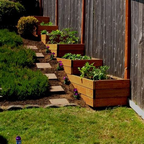 Slope Yard Ideas by 1000 Images About Landscaping A Slope On Pinterest