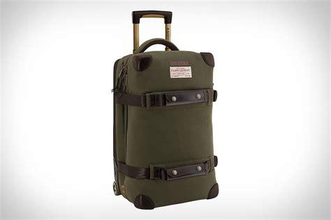 filson x burton wheelie flight deck bag