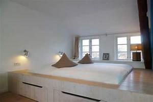 Podest Mit Ausziehbarem Bett : podest bett mit stufe die neuesten innenarchitekturideen ~ Markanthonyermac.com Haus und Dekorationen