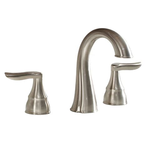 lowes bathroom faucets brushed nickel