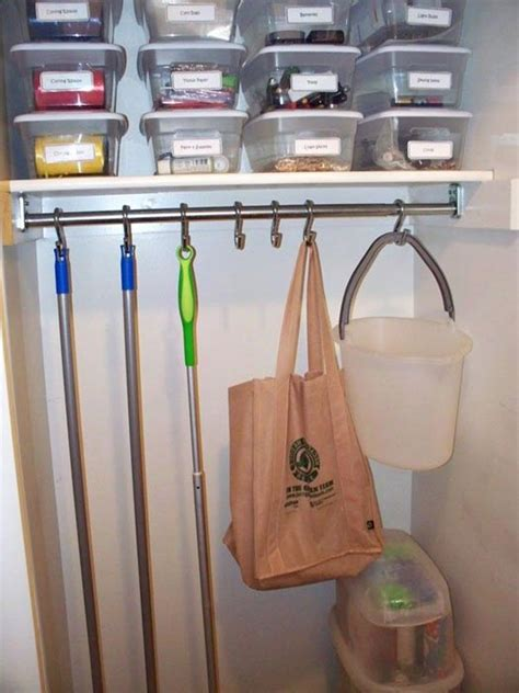 Broom Closet Will Keep Your Home Neat While Cleaning