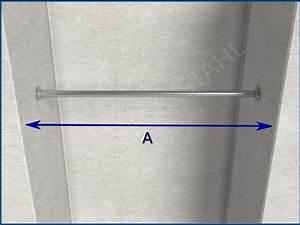 Kleiderstange An Wand : garderobenstange kleiderstange 21 bis 60 mm l nge bis 250 cm flansch edelstahl ~ Markanthonyermac.com Haus und Dekorationen