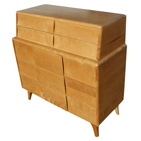 heywood wakefield dresser heywood wakefield kohinoor 3 drawer dresser deck top ebay