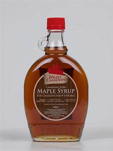 100% Canadian Pure Maple Syrup (250ml/500ml) – The ...
