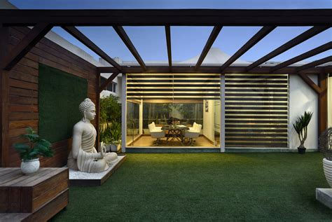 Home Terrace : This Office With Terrace Garden Is Brilliantly Designed