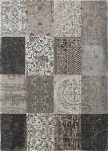 tapis louis de poortere vintage multi noir blanc tapis en ligne