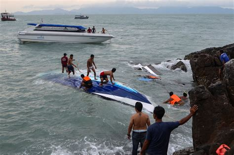 Phoenix Boats Phuket by Thailand Boat Accident One Dead 56 Missing After Tourist