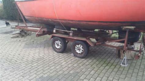 Opknapper Zeilboot by Opknapper Trailer Zeilboot Met Hefkiel Advertentie 386583