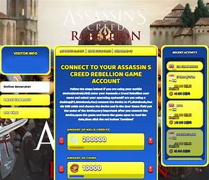 Assassin's Creed Rebellion Hack Cheat Online Helix Credits