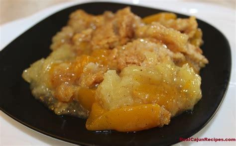 pineapple and cobbler realcajunrecipes la cuisine de maw maw