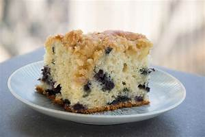 Blueberry Coffee Cake - Chateau Elma