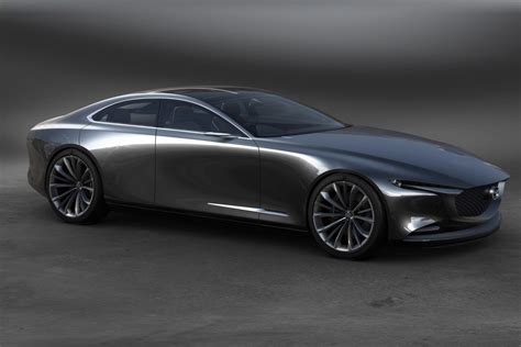 mazda vision coupe 2017 un concept de grand coupe quatre portes
