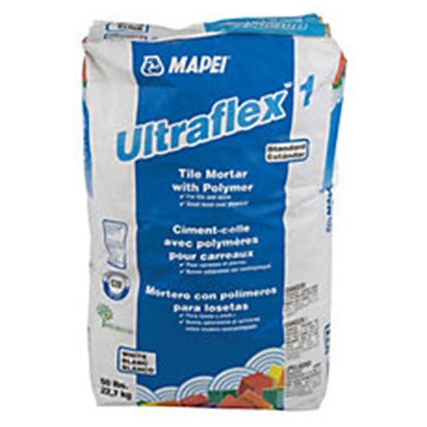 mapei ultraflex 1 white mortar 50lb floor and decor