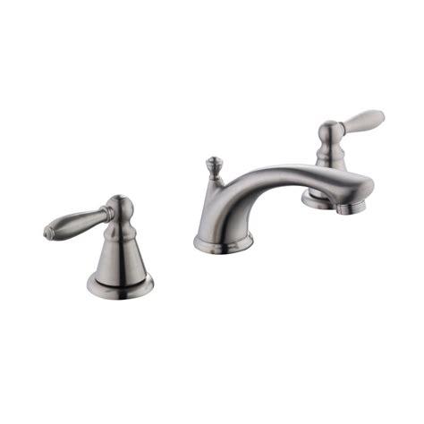 glacier bay 2500 series 8 in widespread 2 handle bathroom faucet in brushed nickel 67575w 6004