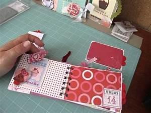 """5 x 3 1/2 Valentine's Day Scrapbook Album """"Love Struck ..."""