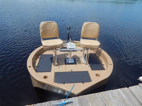 Round Electric Boat by 2 Man Boats For Sale With Trolling Motor Roundabout