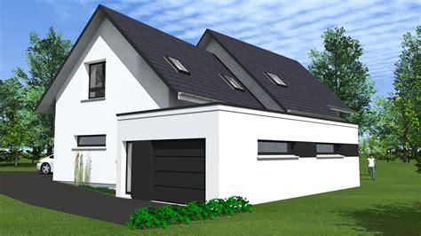 cabinet de maitrise d oeuvre c 178 extension d une maison en toit plat dans le haut rhin 68 by