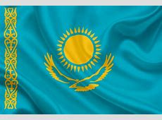 National flag of Kazakhstan