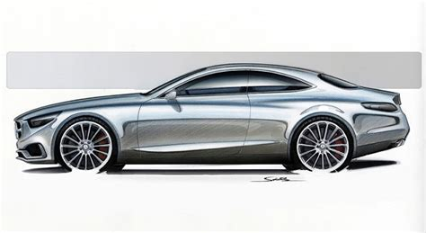 Mercedes S-class Coupe Concept Teased In New Photos And Video