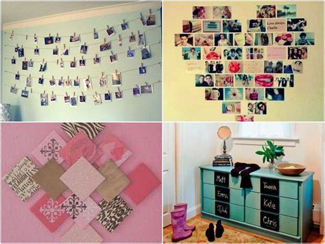 Photo On The Wall Diy Decorating The Bedroom To Make It