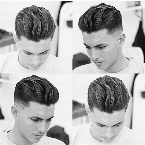 Slick Back Haircuts: 40 Trendy Slicked Back Hair Styles
