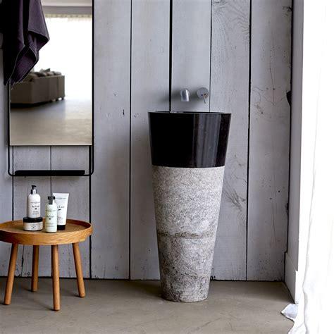 vasque sur pied vente vasque sur pied en marbre koni sur tikamoon