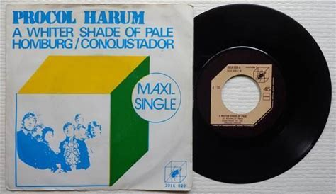 Procol Harum 'a Whiter Shade Of Pale' Dutch Reissue 7