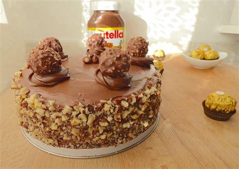 ferrero rocher cake la cuisine de micheline