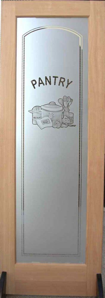 Etched Glass Pantry Doors  Design To Your Delight