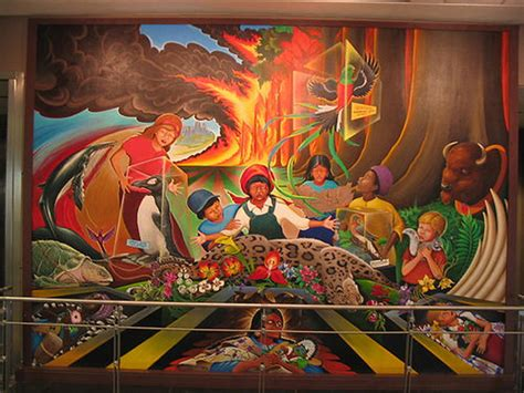 denver international airport mural conspiracy