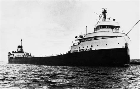 photos the edmund fitzgerald remembered 40 years after sinking the current
