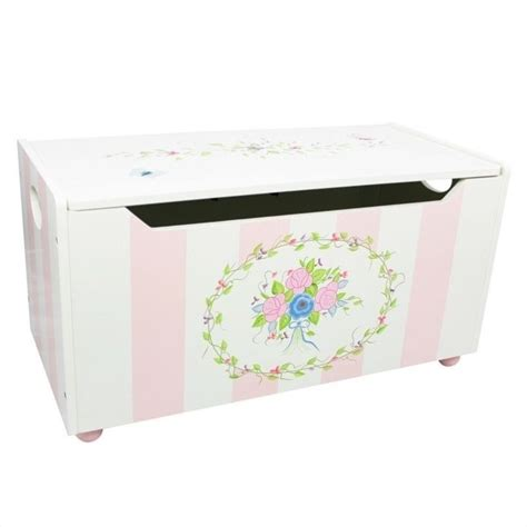 Fantasy Fields Hand Carved Bouquet Toy Chest   W 3834G