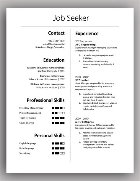 Simple Yet Elegant Cv Template To Get The Job Done  Free. Upload My Resume In Naukri Com. Mba Resume Tips. Sample Of A Resume Cover Letter. Mechanic Resume Sample. Resumes In Spanish. Sample Pharmacy Resume. Usa Jobs Resume Sample. Sample Resume Of Student