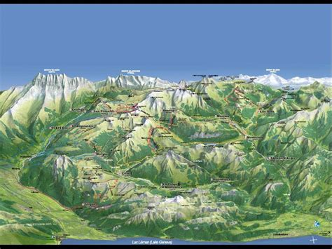 100 alps mountains map alps map swiss alps hut system topographic map