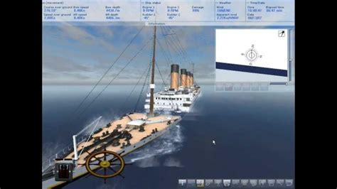 ship simulator 2008 titanic sinking